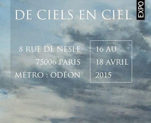 Exposition du 16 au 18 avril 2015 – Galerie de Nesles – Paris