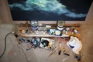 Peinture à l'huille de Franck Bailleul